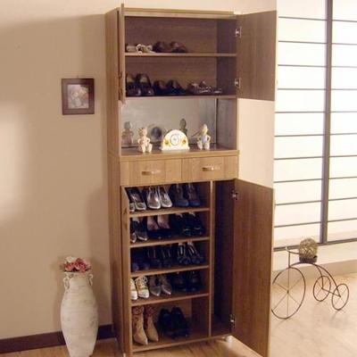 에든 거울 도어형 신발장 ESM2007