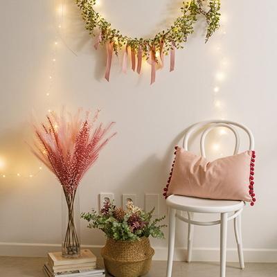 로맨틱 LED 와이어전구 별전구 미니앵두전구 크리스마스전구 건전지형