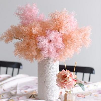 솜사탕 핑크뮬리 그라스 인테리어 조화 (단품)