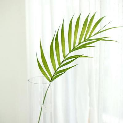 참쉬운 그린테리어 대형아레카야자잎 실크플라워 조화