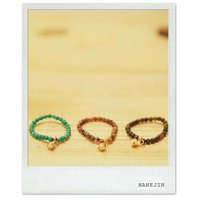 (원석+담수진주) petit ring