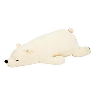 북극곰오리털바디필로우