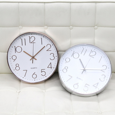 모던라운드벽걸이시계