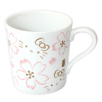 헬로키티 벚꽃 머그컵