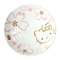 헬로키티 벚꽃 접시 16cm