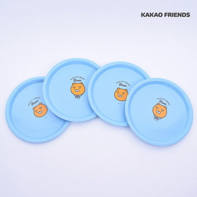 카카오프렌즈 피크닉 접시 4P세트 라이언