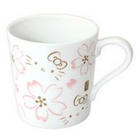 일본직수입 헬로키티 벚꽃 머그컵
