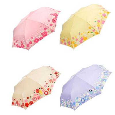 카카오프렌즈 블로썸 완전 자동 우산 55cm