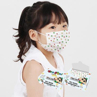 짱구 아동 유아 일회용 마스크 소형 30매