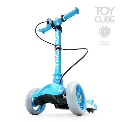 티큐브A1 블루_LED바퀴및바디 핸드브레이크 접이식