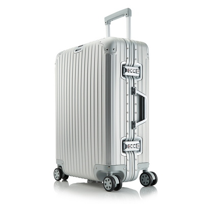 브라이튼 킬브 20인치 풀 알루미늄 기내용 여행용캐리어 여행가방 케리어 실버