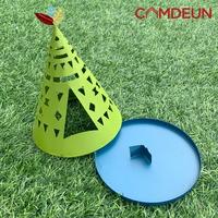 캠든 인디언 캠핑 낚시 휴대용 모기향 거치대 페이