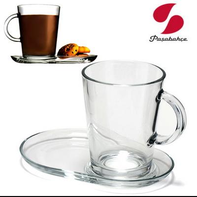 홈카페 커피잔세트 홍찻잔 유리찻잔 컵받침 손잡이 믹스커피 집들이선물