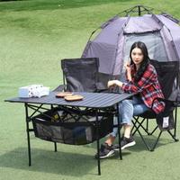 감성캠핑용품 접이식 롤테이블 L 조리대 캠핑식탁 탁자 책상 차박테이블