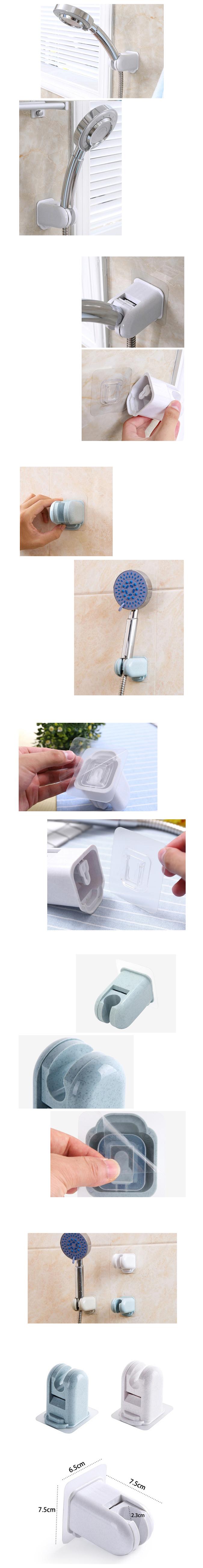 매직흡착 샤워기 홀더(3color) LS - 꾸미기 좋은날, 4,000원, 정리용품/청소, 홀더/타올/휴지걸이