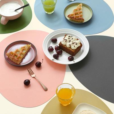 르리에 실리콘 식탁 테이블매트 오벌 LS