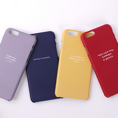 20�÷� ������ �̾߱� single color case [��������]