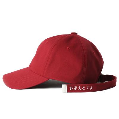 Bubilian long strap ball cap -black