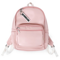 BuBilian leather backpack _PINK
