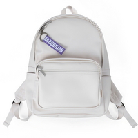 BuBilian leather backpack _CREAM