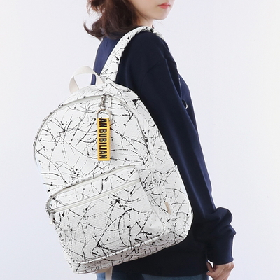 Bubilian Painting Backpack _white
