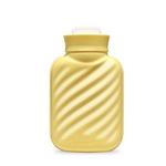 에바 실리콘 보온 물주머니-옐로우 (파우치 증정)