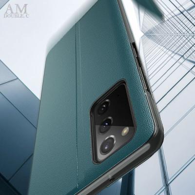 갤럭시 A31 A315 사이드뷰 플립 가죽 핸드폰 케이스
