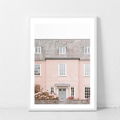 핑크 하우스_데코 사진포스터