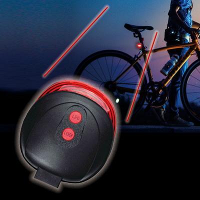 LED 레이저 자전거 후미등