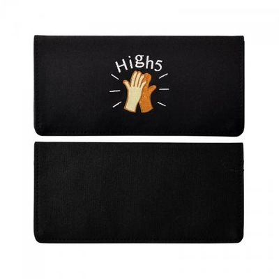 [kiitos] CANVAS FUNNY WALLET - HIGH 5