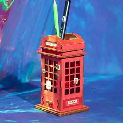 [adico] DIY 3D 펜홀더 입체퍼즐 - 공중 전화