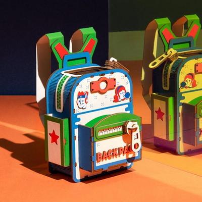 [adico] DIY 3D 펜홀더 입체퍼즐 - 백팩