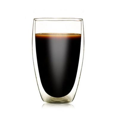 내열유리 이중 유리 컵 - 450ml
