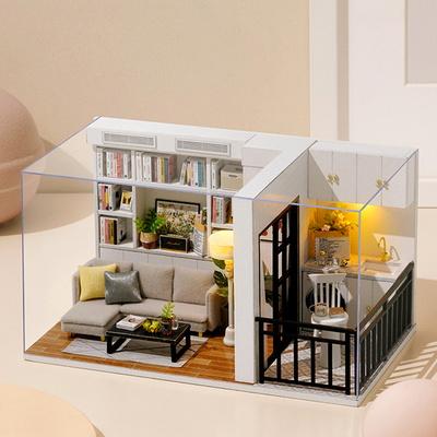 [adico] DIY 미니어처 하우스 - 모던 화이트