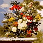 B658 꽃들의 왈츠II DIY명화 그리기