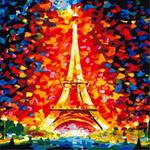 B52 에펠탑  DIY명화 그리기