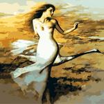 B551 노을속여인 DIY명화그림그리기