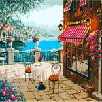 B989 카페풍경 DIY명화그림그리기