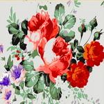 E093 나팔꽃과장미 DIY명화그림그리기