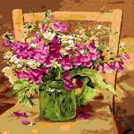 Q1009 꽃정물화 DIY명화그림그리기