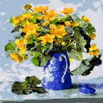 Q1019 꽃정물화 DIY명화그림그리기