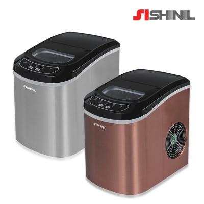 가정용 자동제빙기 12kg 실버/브론즈 SIM-S220SJ