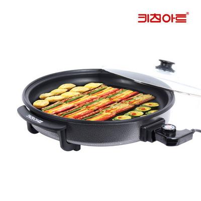 키친아트 라팔 전기 피자팬 블랙 KAPZ-YC1500