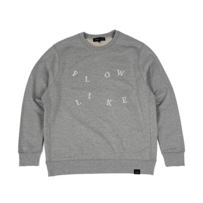 Link.Project. Flow like sweatshirt gray