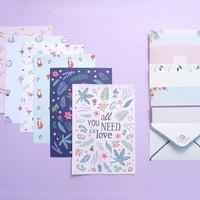 Dashanddot illust letter set