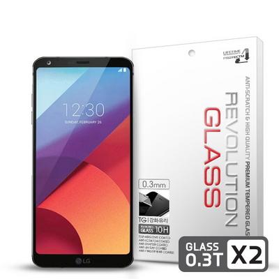 레볼루션글라스 0.3T 강화유리 액정보호필름 LG G6