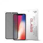 2매 레볼루션글라스 2.5D 프라이버시 강화유리 아이폰X