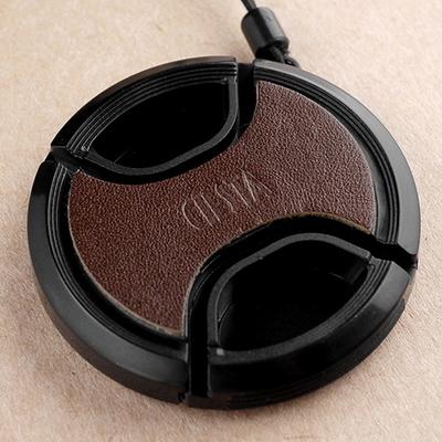 씨에스타 가죽 스킨 렌즈캡 49mm (레드 브라운 다크브라운 블랙)