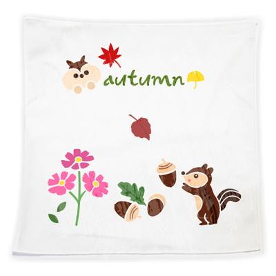 스텐실손수건만들기-가을다람쥐도토리(3인세트)