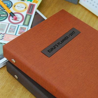 현명한 소비 가치있는 기록 제이로그 캐쉬북 머니플래너 바인더-카멜